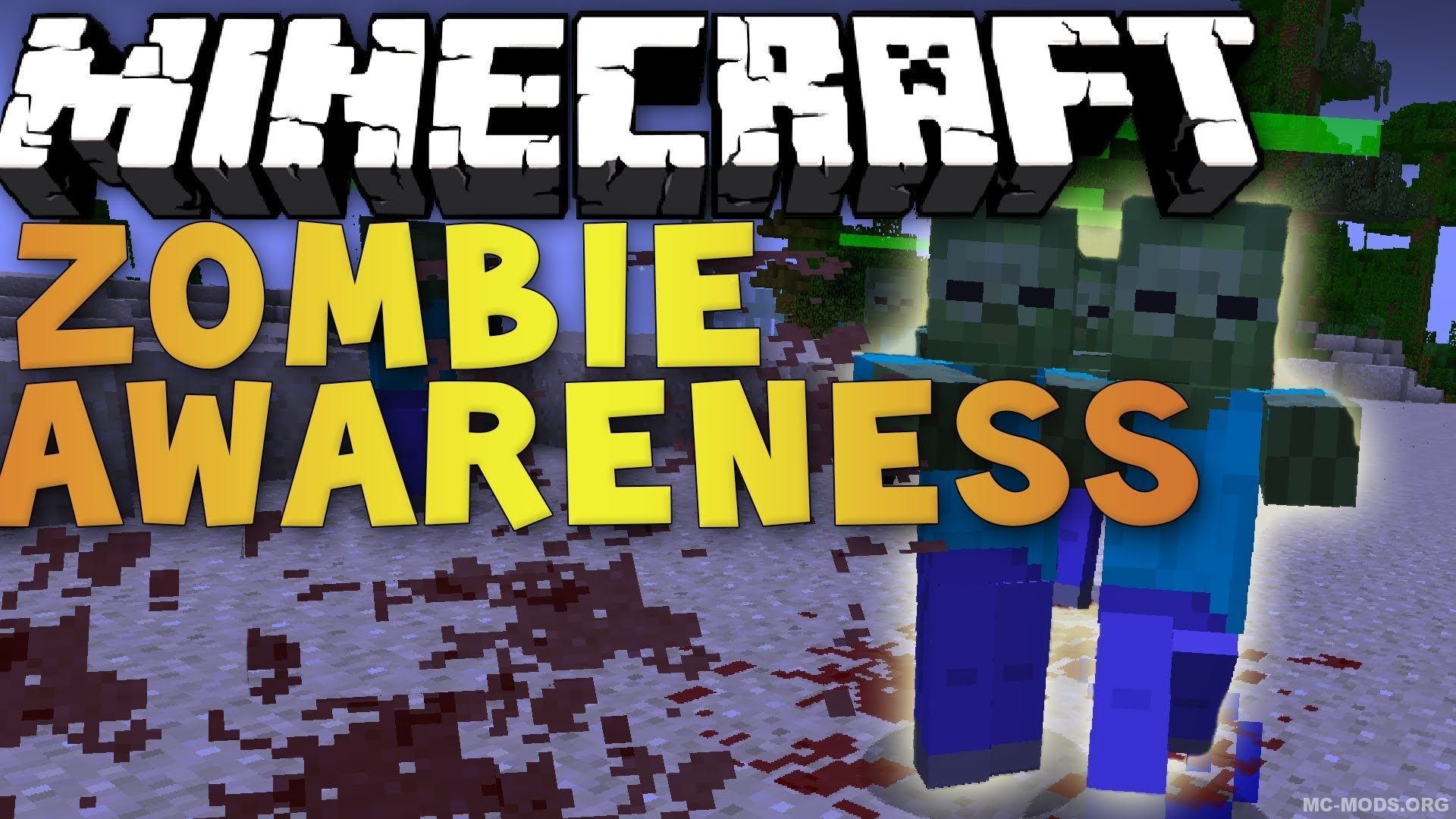 скачать мод на майнкрафт 1.7.10 zombie awareness jar